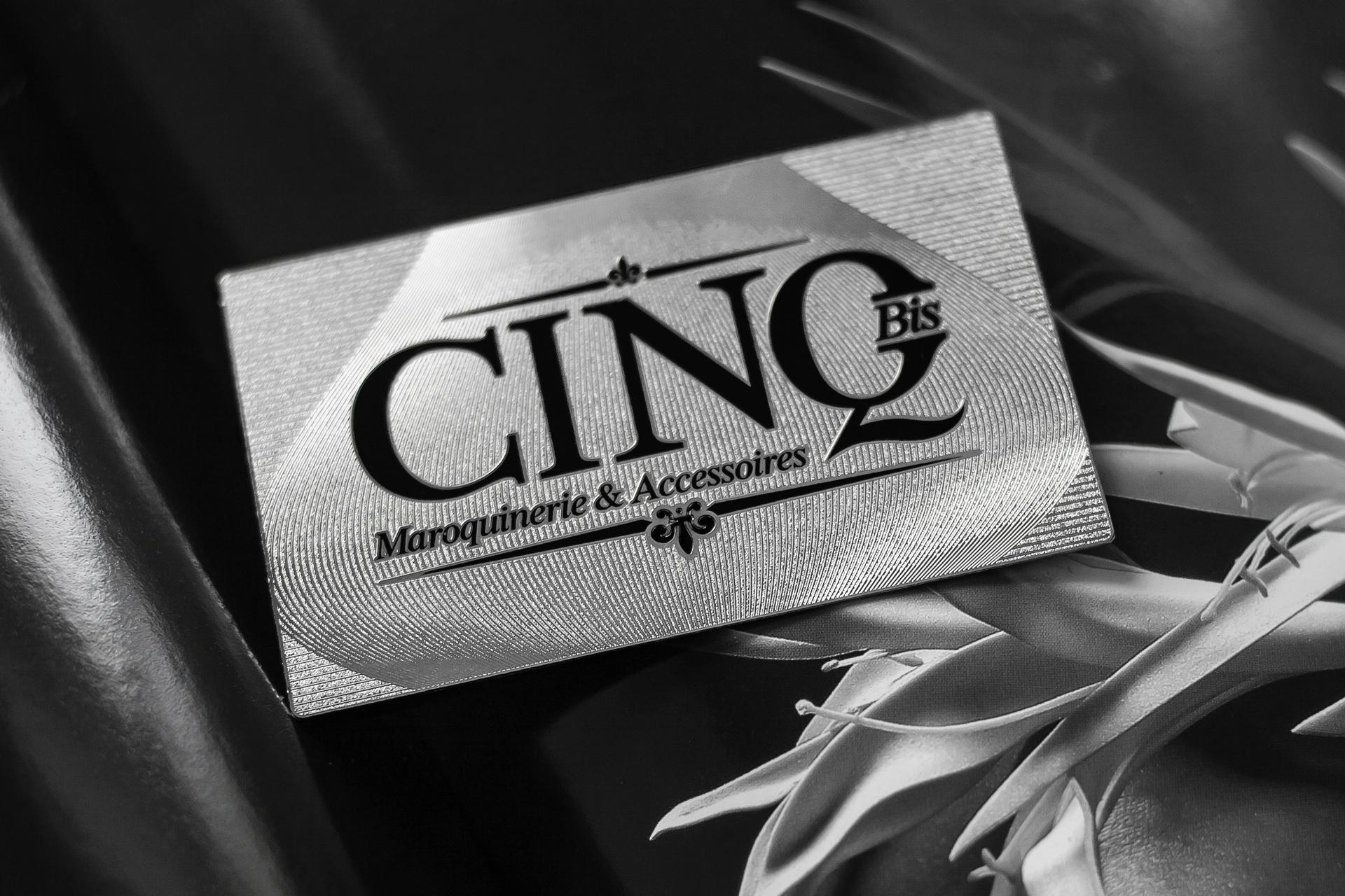 Metal business cards stainless steel member VIP