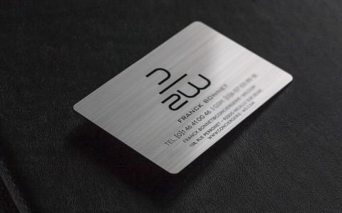 carte-de-visite-aluminium-brosse