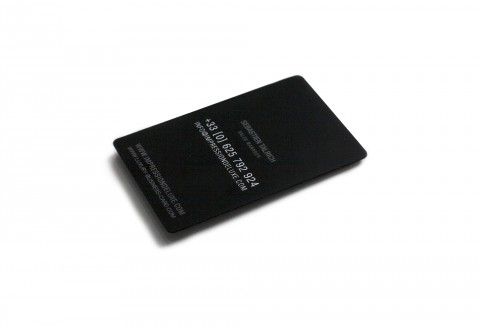 carte-de-visite-metal-noir-mat