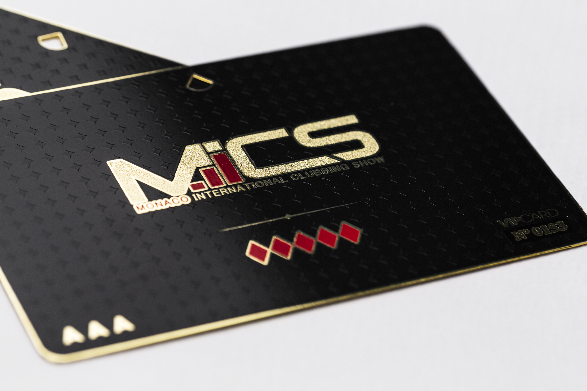 Gold Metal Member Card | Impression de Luxe