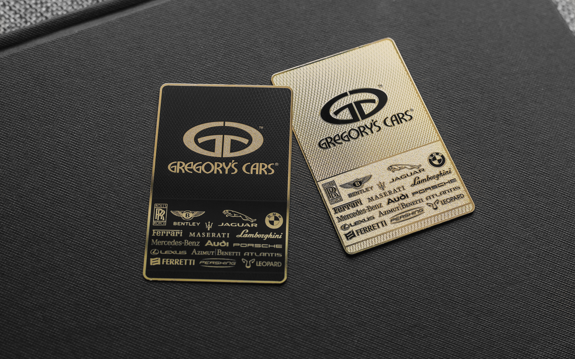 Project: Gregory\'s Cars | Impression de Luxe