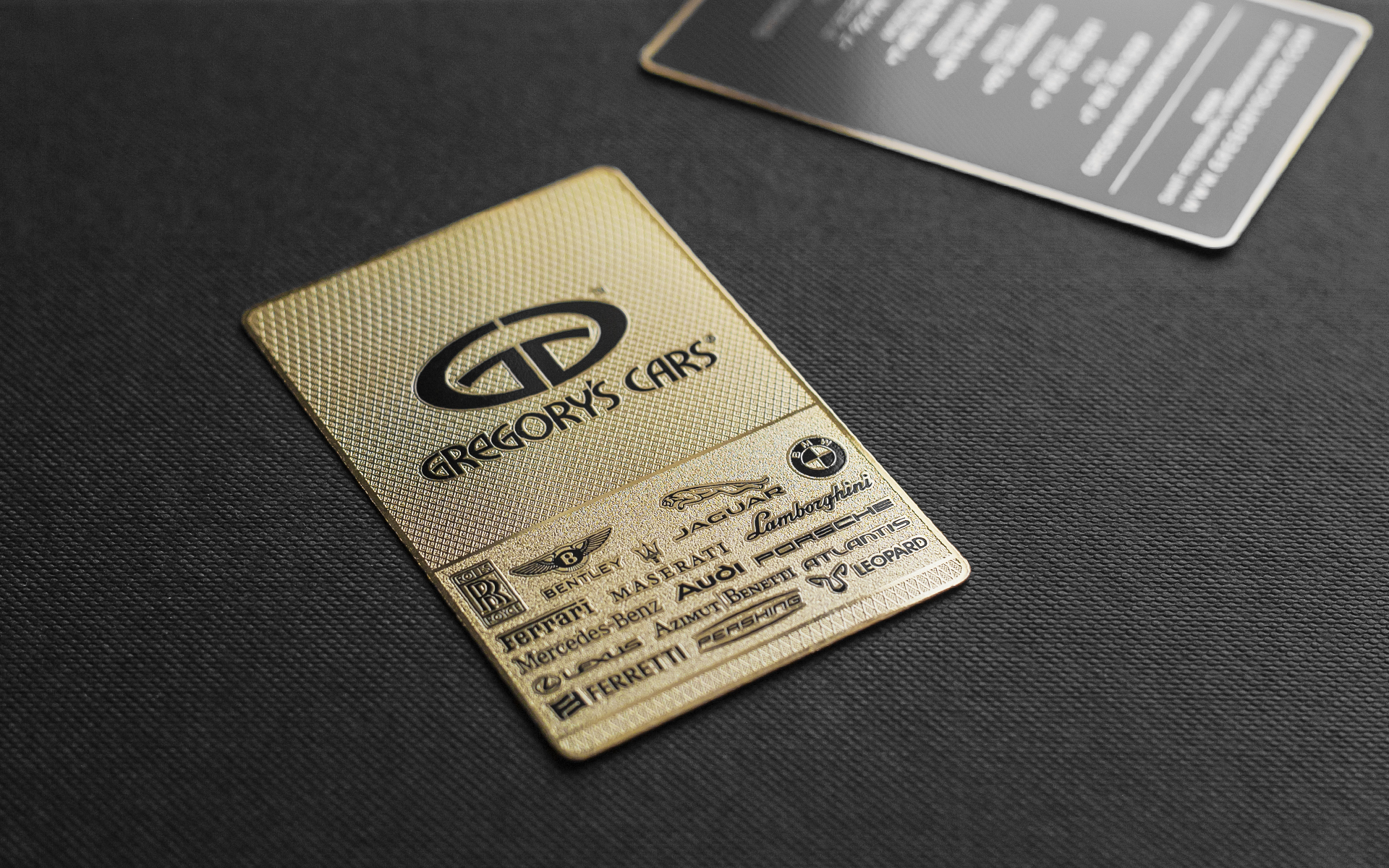 luxury business cards, Unique and design business card | Impression ...