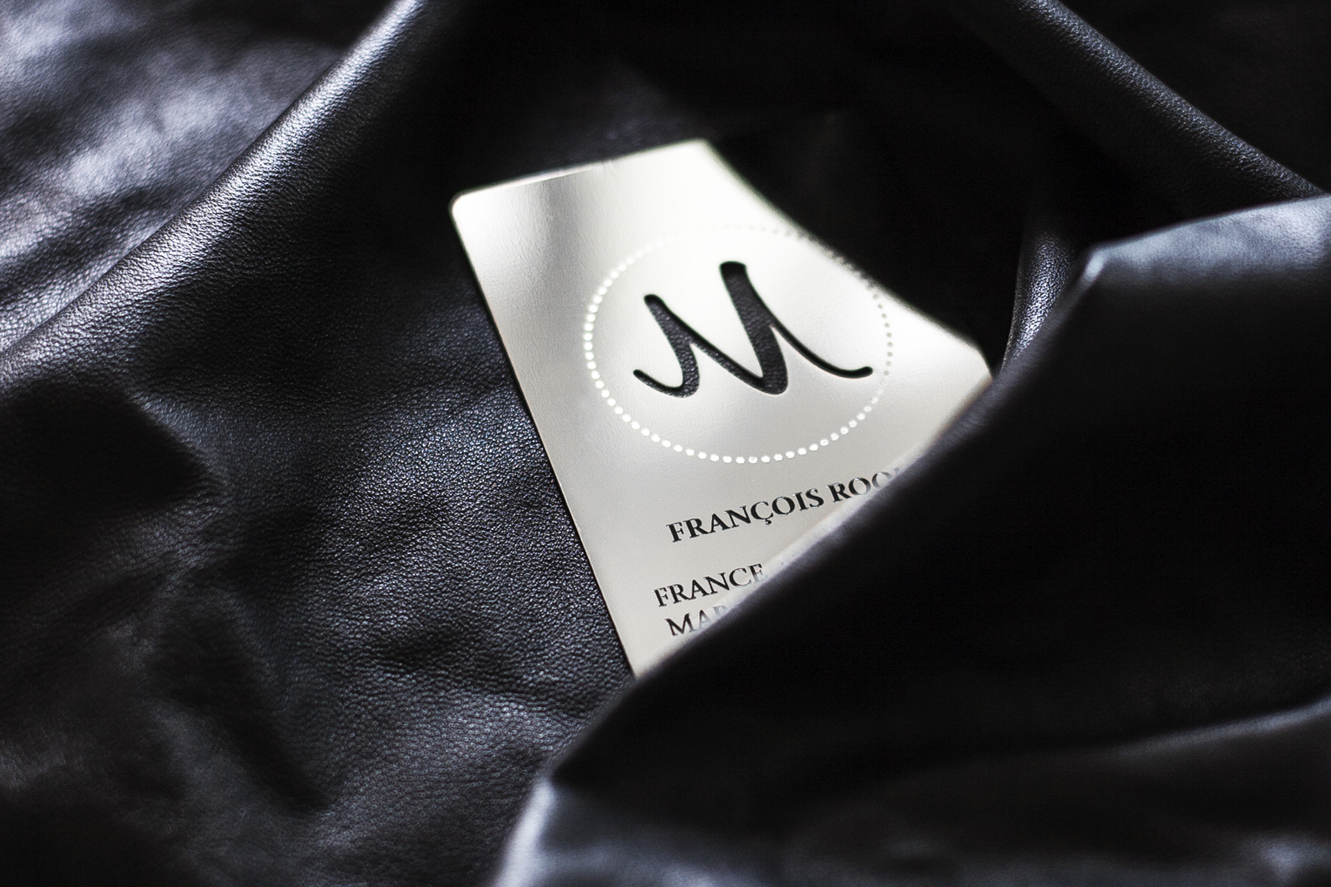 Mirror Metal Business Card | Impression de Luxe