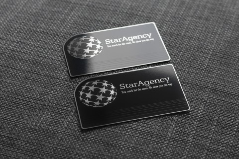 silver-business-card