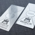 luxury Metal Invitation Card
