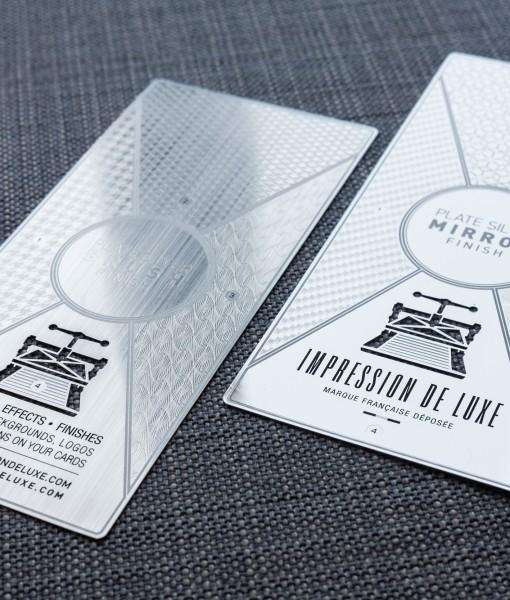 luxury Metal Invitation Card
